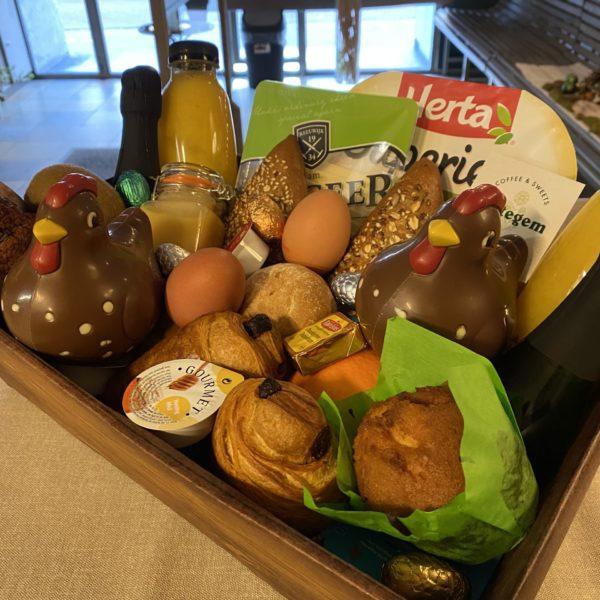 Ontbijtmand Pasen